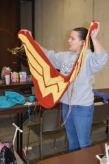 Wonderwoman shawl