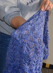 Sparkle shawl